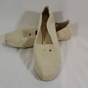 NWOT MAD LOVE CANVAS SHOES FLATS